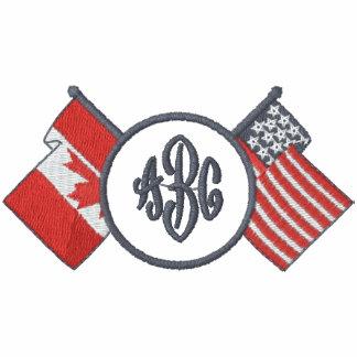 Canada - US - Monogram Shirt Polo Shirt