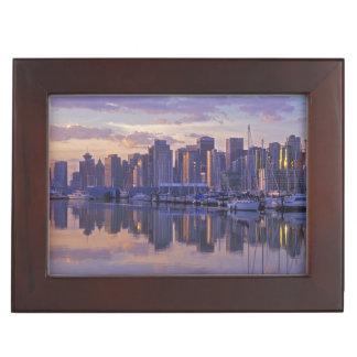 Canada, Vancouver, British Columbia. Vancouver Keepsake Box
