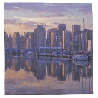Canada, Vancouver, British Columbia. Vancouver Napkin