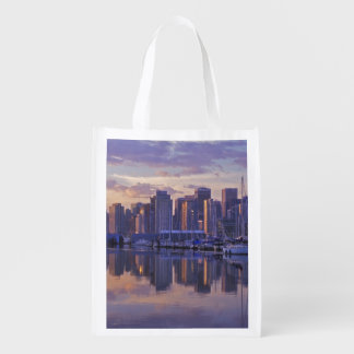 Canada, Vancouver, British Columbia. Vancouver Reusable Grocery Bag