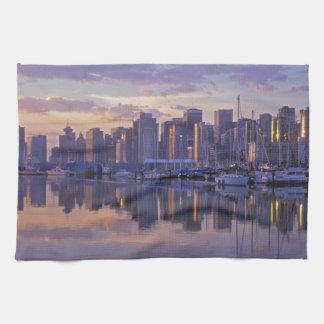 Canada, Vancouver, British Columbia. Vancouver Tea Towel