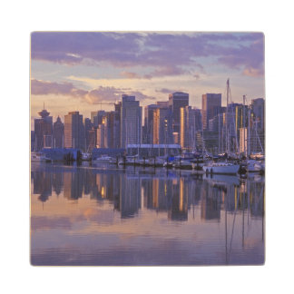 Canada, Vancouver, British Columbia. Vancouver Wood Coaster