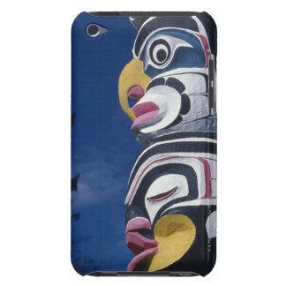 Canada, Vancouver, Stanley Park, totem pole, iPod Case-Mate Case