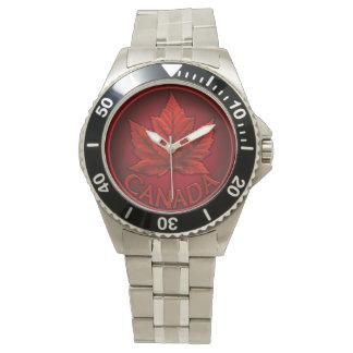 Canada Watch Canadian Flag Souvenir Wristwatch