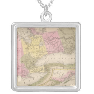 Canada West 2 Silver Plated Necklace