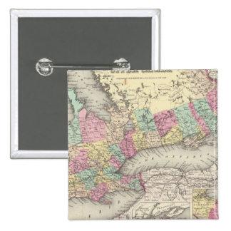 Canada West or Upper Canada 15 Cm Square Badge
