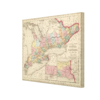 Canada West Upper Canvas Print