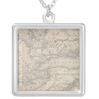 Canada West Upper Silver Plated Necklace