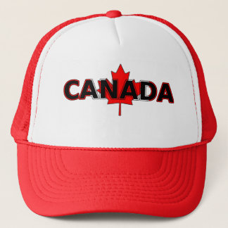 Canada with Leaf Trucker Hat