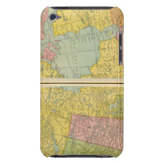 Canada with railroads barely there iPod cover