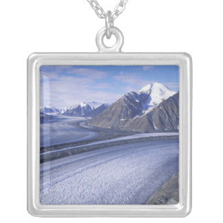 Canada, Yukon Territory, Kluane National Park. Silver Plated Necklace