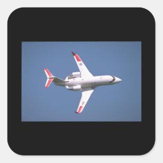 Canadair CC-144A Challanger_Aviation Photograp II Square Sticker
