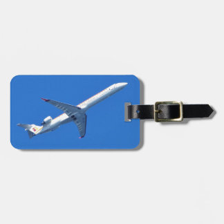Canadair CL-600 In Flight Luggage Tag