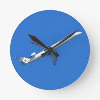 Canadair CL-600 In Flight Round Clock