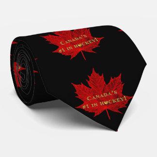 Canada's #1 in Gold!-Hockey Tie