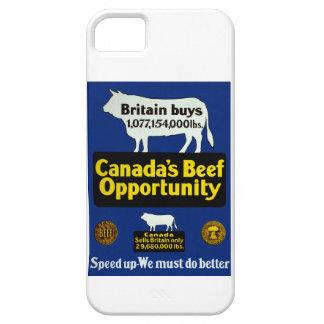 Canada's Beef Opportunity iPhone 5 Cases