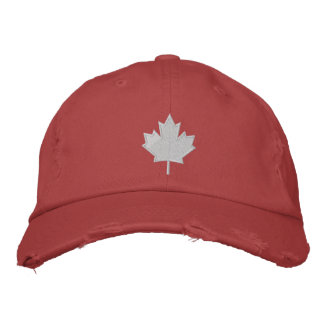 Canada's Leaf Embroidered Hat