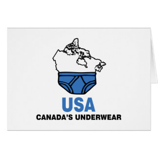 Canada's Underwear Card