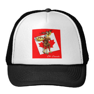 CanadaT_01 Mesh Hats