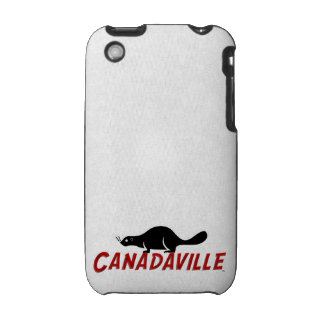 Canadaville Beaver iPhone 3 Covers