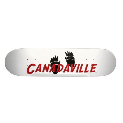 Canadaville Tracks Custom Skateboard