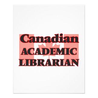 Canadian Academic Librarian 11.5 Cm X 14 Cm Flyer