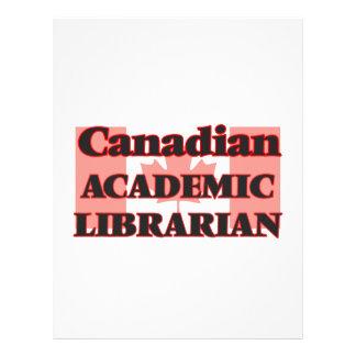 Canadian Academic Librarian 21.5 Cm X 28 Cm Flyer