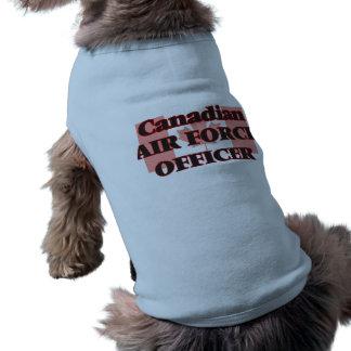 Canadian Air Force Officer Sleeveless Dog Shirt