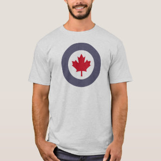 Canadian Air Force t-shirt roundel/emblem amazing