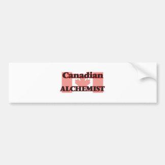 Canadian Alchemist Bumper Sticker