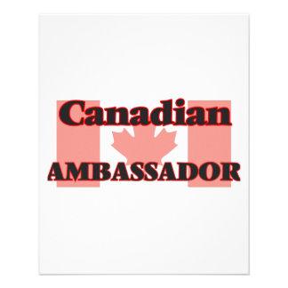 Canadian Ambassador 11.5 Cm X 14 Cm Flyer