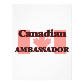 Canadian Ambassador 21.5 Cm X 28 Cm Flyer