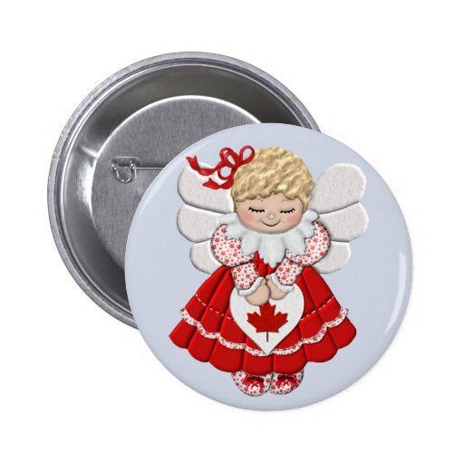 Canadian Angel Pin