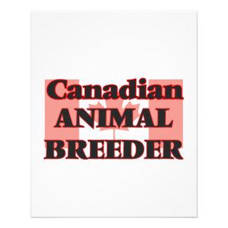 Canadian Animal Breeder 11.5 Cm X 14 Cm Flyer