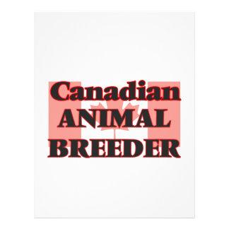 Canadian Animal Breeder 21.5 Cm X 28 Cm Flyer