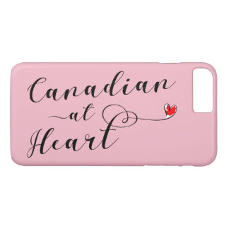 Canadian At Heart Mobile Phone Case