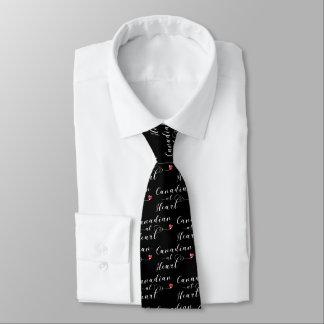 Canadian At Heart Tie, Canada Tie