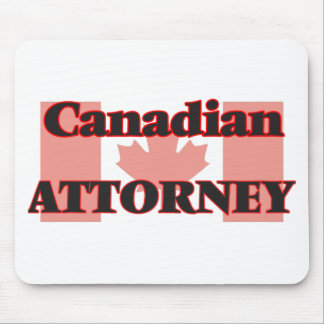 Canadian Attorney Mouse Pad