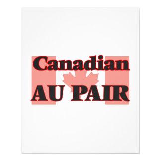 Canadian Au Pair 11.5 Cm X 14 Cm Flyer