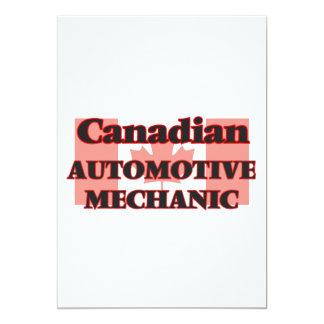 Canadian Automotive Mechanic 13 Cm X 18 Cm Invitation Card