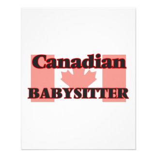 Canadian Babysitter 11.5 Cm X 14 Cm Flyer