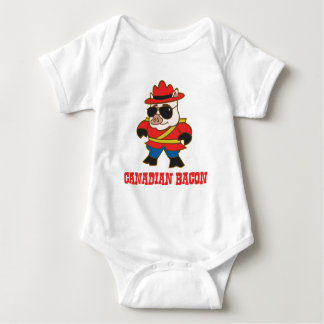 Canadian Bacon Baby Bodysuit