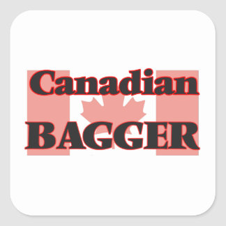Canadian Bagger Square Sticker