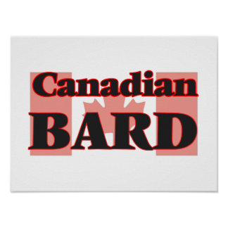 Canadian Bard Poster