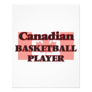 Canadian Basketball Player 11.5 Cm X 14 Cm Flyer