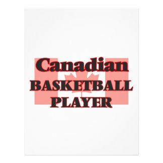 Canadian Basketball Player 21.5 Cm X 28 Cm Flyer
