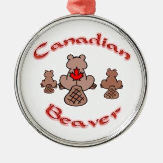 Canadian Beaver Ornament