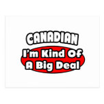 Canadian...Big Deal Post Card