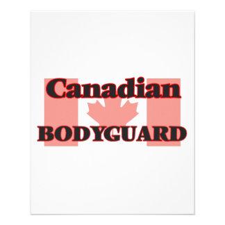 Canadian Bodyguard 11.5 Cm X 14 Cm Flyer