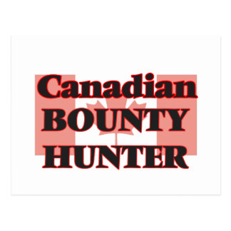 Canadian Bounty Hunter Postcard